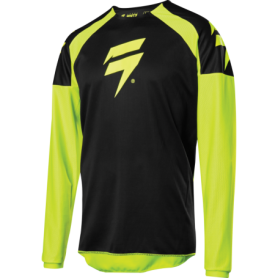 Maillot Cross SHIFT Youth Whit 3 Label Race Flo Yellow 20