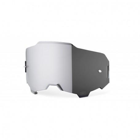 Ecran 100% Anti buée Miroir Silver pour Masque Armega