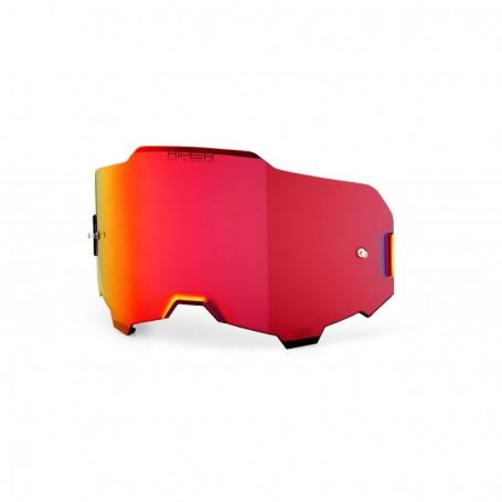 Ecran 100% Hiper Anti buée Miroir Red pour Masque Armega