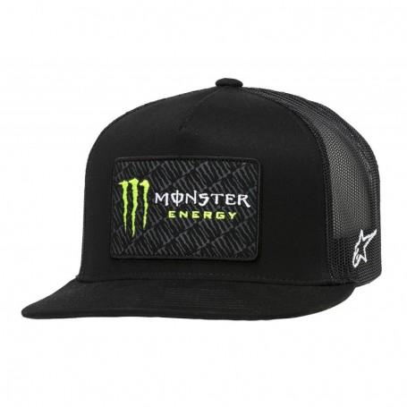 Casquette ALPINESTARS Monster Champ Trucker Black Black
