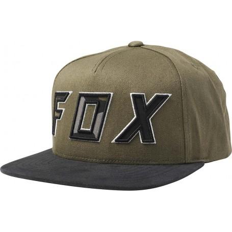 Casquette FOX Possesed Snapback Olive Green Ptr Pe 19