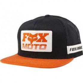 Casquette FOX Charger Snapback Black Orange 19