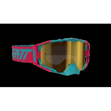 Masque Cross LEATT Velocity 6.5 Iriz Ink Red Teal Bronz Mirror