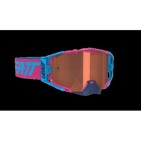 Masque Cross LEATT Velocity 6.5 Ink Pink Cyan Rose