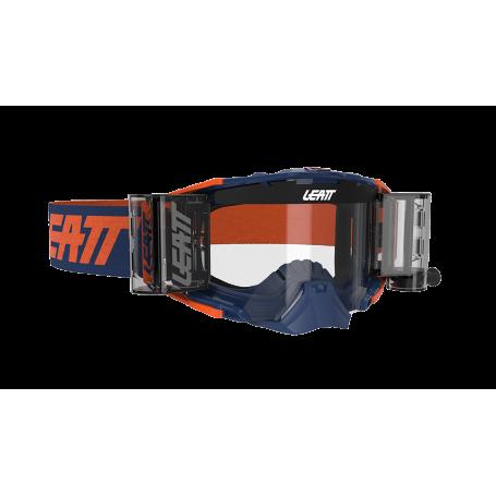 Masque Cross LEATT Velocity 6.5 Roll Off Ink Orange Clear
