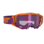 Masque Cross LEATT Velocity 5.5 Iriz Neon Orange Purple Mirror