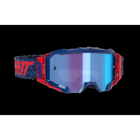 Masque Cross LEATT Velocity 5.5 Iriz Royal Blue Mirror