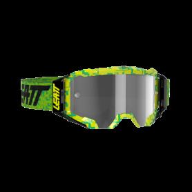 Masque Cross LEATT Velocity 5.5 Neon Lime Light grey Clear