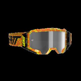 Masque Cross LEATT Velocity 5.5 Neon Orange Light Grey Clear