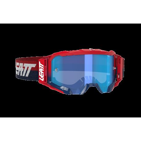 Masque Cross LEATT Velocity 5.5 Red Blue Clear