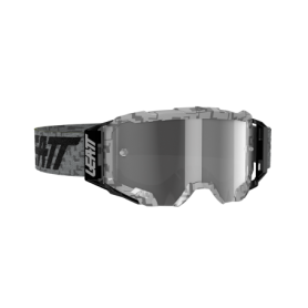 Masque Cross LEATT Velocity 5.5 Steel Light Grey Clear