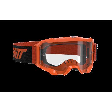 Masque Cross LEATT Velocity 4.5 Neon Orange Clear