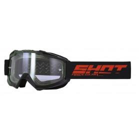 Masque Cross SHOT Assault Elite Black Kaki Matt