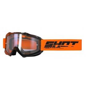 Masque Cross SHOT Assault Elite Orange Black Glossy