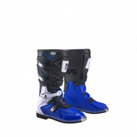 Bottes Moto Cross GAERNE Junior GX-J Black Blue