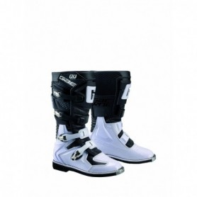 Bottes Moto Cross GAERNE Junior GX-J Black White