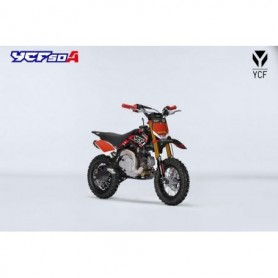 Moto YCF 50 A 2019 Limited Edition Christmas Red