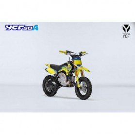 Moto YCF 50 A 2019 Limited Edition Christmas Yellow