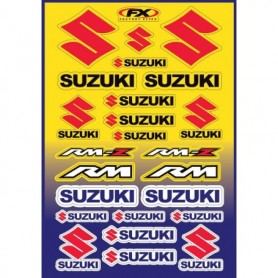 Planche de Stickers Factory Effex Suzuki