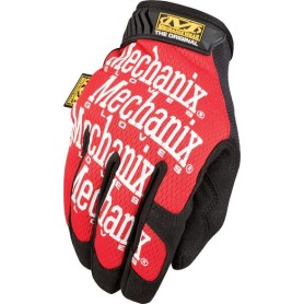 Gants d'Atelier MECHANIX WEAR Original Noir Rouge
