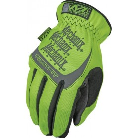 Gants d'Atelier MECHANIX WEAR Safety Fast Fit Jaune Fluo