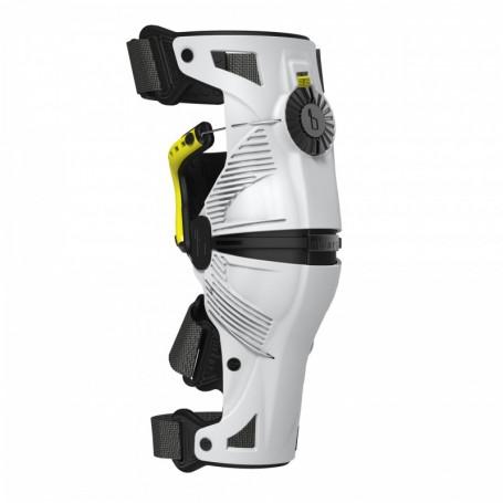 Genouillères-Mobius-X8-Blanc-Jaune