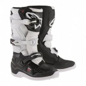 Bottes Moto Cross ALPINESTARS Tech 7S Black White