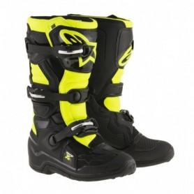 Bottes Moto Cross ALPINESTARS Tech 7S Black Yellow Fluo