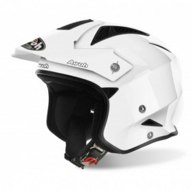 Casque Trial AIROH Trr S Color White Gloss 21