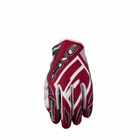 gants-moto-cross-five-mxf-prorider-s-rouge-gris-blanc