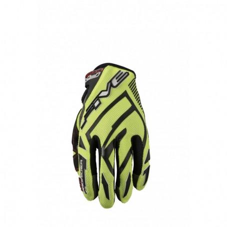 gants-moto-cross-five-mxf-prorider-s-jaune-fluo-noir