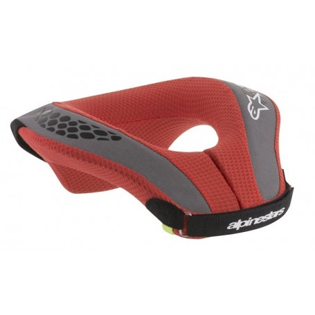 Tour De Cou ALPINESTARS Sequence Neck Roll Black Red Youth