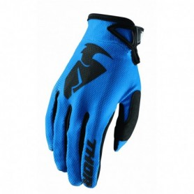 Gants Moto Cross THOR Sector Blue