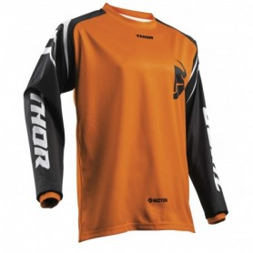 Maillot Cross THOR Youth Sector Zones Orange 19