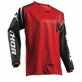 Maillot Cross THOR Youth Sector Zones Red 19