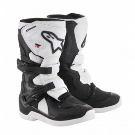 Bottes Moto Cross ALPINESTARS Tech 3 S Black White Kid