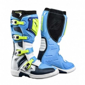 Bottes Moto Cross KENNY Performance Cyan