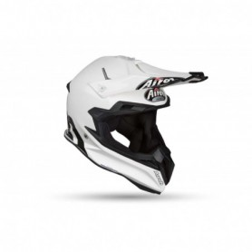 Casque Cross AIROH Terminator Open Vision Color White Gloss