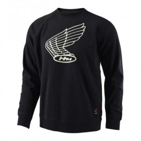 Sweat TROY LEE DESIGNS Honda Wing Crew Black