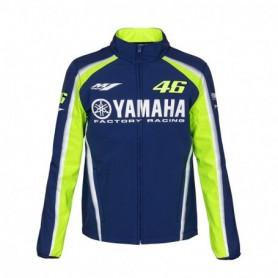 Veste VR46 Yamaha Racing Softshell Blue