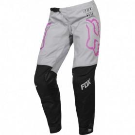 Pantalon Cross FOX 180 Mata Black Pink Womens 19