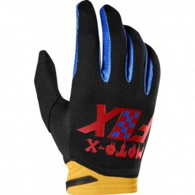 Gants Moto Cross FOX Dirtpaw Czar Black Yellow 19