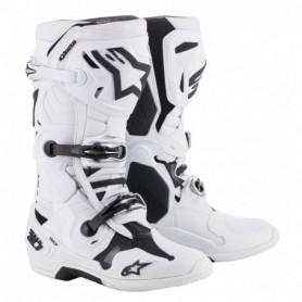 Bottes Moto Cross ALPINESTARS Tech 10 White