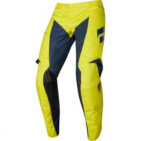 Pantalon Cross SHIFT Whit 3 Youth York Yellow Navy 19