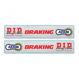 Autocollants de Bras Oscillants Afam Braking DID