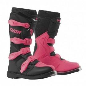 Bottes moto cross THOR Womens Blitz XP Black Pink