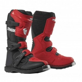 Bottes moto cross THOR Youth Blitz XP Red Black