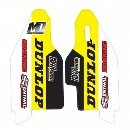 Stickers de Protege Fourche MOTO DIFFUSION Suzuki