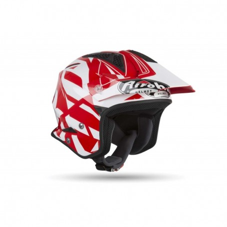 Casque Trial AIROH Trr S Convert Red Gloss