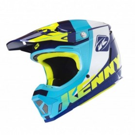 Casque cross KENNY Performance Navy